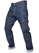Pantalon jean de travail - Multi-poches - Coupe droite