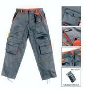 Pantalon SPAZIO - Couleur : Gris / Orange - Tailles: S - M - L - XL - XXL
