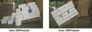 Papier antiglisse 250 g/m² 115x75 - Permet d'augmenter la hauteur de la palette