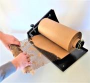 Papier d'emballage écologique Papierwrap - Papier en nid d'abeille extensible