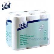 Papier toilettes EnSure compact Lotus 2 plis - Blanc - 48 rouleaux de 500 feuilles