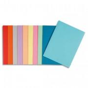 Paquet de 10 chemises Super carte 250 grammes coloris assortis - Rainex
