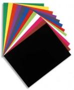 Paquet de 100 chemises Flash 220 teintes vives jaune, format 320x240mm - Exacompta