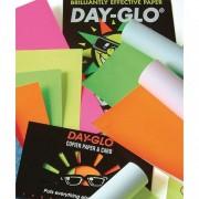 Paquet de 100 feuilles papier couleur DAY GLO copieur, laser 100 grammes format A4 fluo assortis - Rey