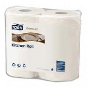Paquet de 2 rouleaux d'essuie-tout KITCHEN PLUS 2 plis blanc - Tork