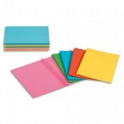 Paquet de 50 chemises à soufflet Rock s carte 220 grammes coloris assortis vifs - Rainex