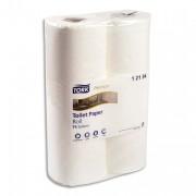 Paquet de 6 rouleaux papier toilette TOILET PLUS blanc - Tork