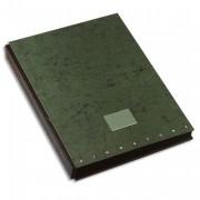 Parapheur Signature 24 compartiments vert, couverture pelliculée imprimée - Elba