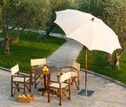 Parasol de jardin diamètre 240 cm - Diamètre : 240 cm