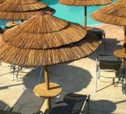 Parasol exotique - Parasol en roseau naturel ou synthétique