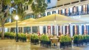 Abri Parasol de terrasse professionnel pour CHR - Plusieurs tailles de modèle différentes : 8 m2 à 144 m2