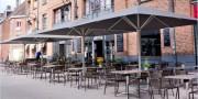 Parasols pour terrasse avec support aluminium - Parasols pour terrasse jusqu'à 7 m de diamètre
