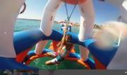 Parc aquatique flottant - Dimensions : L 30 m x l 20 m