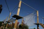 Parcours accrobatique en hauteur - 4 ans ou enfant d'un 1 mètre