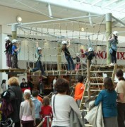Parcours acrobatique mobile