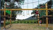 Parcours acrobatique modulable - Parcours de 175 m avec 26 ateliers