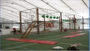 Parcours acrobatique transportable - Parcours de 120 m avec 18 ateliers