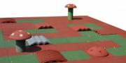 Parcours de billes en caoutchouc - Tranche d'âge : 5 – 10 ans -