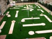 Parcours de minigolf 6 pistes - 6 pistes - longueur pistes : 36 m