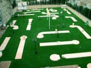 Parcours de minigolf pistes 24 mètres - 6 pistes - longueur des pistes : 24 m