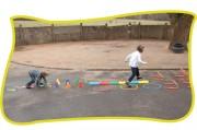 Parcours de motricité pour enfants - Contenance : 35 éléments