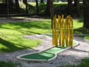 Parcours mini-golf à bordures - Accessible à tous les âges