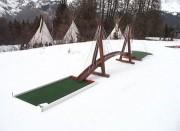 Parcours mini golf en aluminium itinérant - Parcours de 6 trous à 18 trous