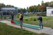 Parcours Mini Golf réglable - Modèle très polyvalent, réglable et personnalisable.
