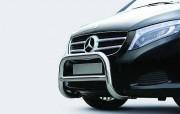 Pare buffle avant acier inox - Minimise les dommages au véhicule