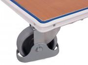Pare chocs pour chariots de manutention - Diamètre roue : 100 mm
