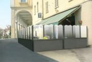 Pare vent terrasse café - Hauteurs : 92 cm et 157 cm