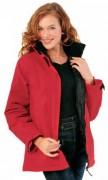 Parka femme personnalisé - Parka femme ottoman 100% nylon enduit