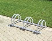 Parking à vélo acier 3 places - Dimensions (L x P x H): 115 x 42 x 30 cm