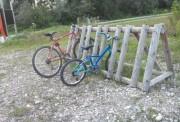Parking vélo en bois - Sur-mesure