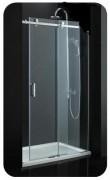 Paroi de douche avec porte coulissante - Longueur (cm) : 120