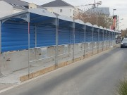 Passage couvert adaptable - Passage couvert, adaptable sur les barrières