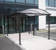 Passage couvert transparent - Hauteur : 2m20 ou 2m50 ou 3m - démontable