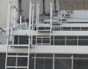 Passage de shed - Matière : aluminium