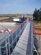 Passerelle d'accès station de traitement des eaux - Sur mesure