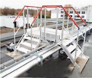 Passerelle d'accès tuyauterie sur toiture terrasse - Passage de tuyauterie sur toiture terrasse - Sur mesure