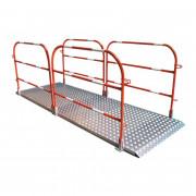 Passerelle de chantier en aluminium - 2 longeurs disponibles : 1982 mm ou 2982 mm