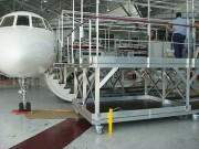 Passerelle de chargement aéronautique