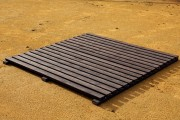 Passerelle de plage en plastique - Dimensions disponibles (L x l) cm : 300 x 100 - 300 x 150