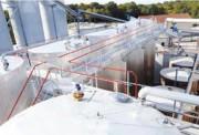 Passerelle double accès fixe - En aluminium - pour l'industrie pétrochimique