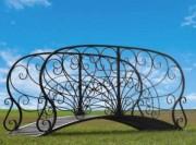 Passerelle en métal fer - Matière : Fer