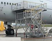 Passerelle maintenance aéronautique - Sur mesure - À hauteur variable