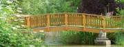 Passerelle piétonne en bois - Standard ou hors standard - Longueurs : de 3 à 15 m