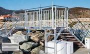 Passerelle portuaire sur mesure - En aluminium