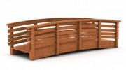 Passerelle pour piéton en bois - Longueurs : de 3 à 15 m - Largeur : de 1,5 m