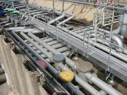 Passerelle pour raffinerie - 2 versions : Aluminium - Alu/ bois